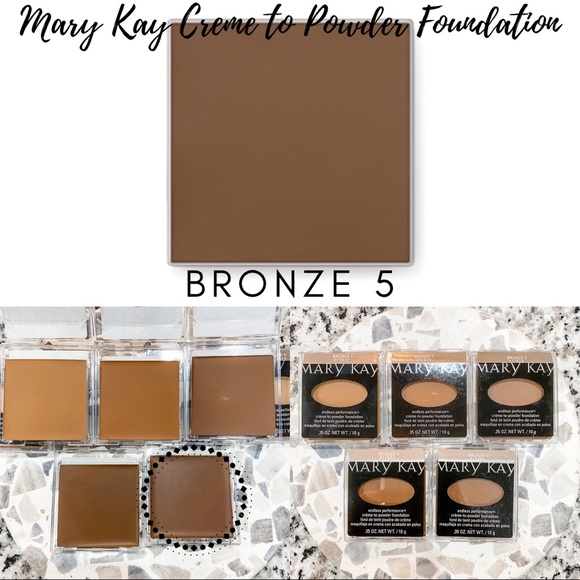Mary Kay Creme to Powder Foundation In Bronze 5